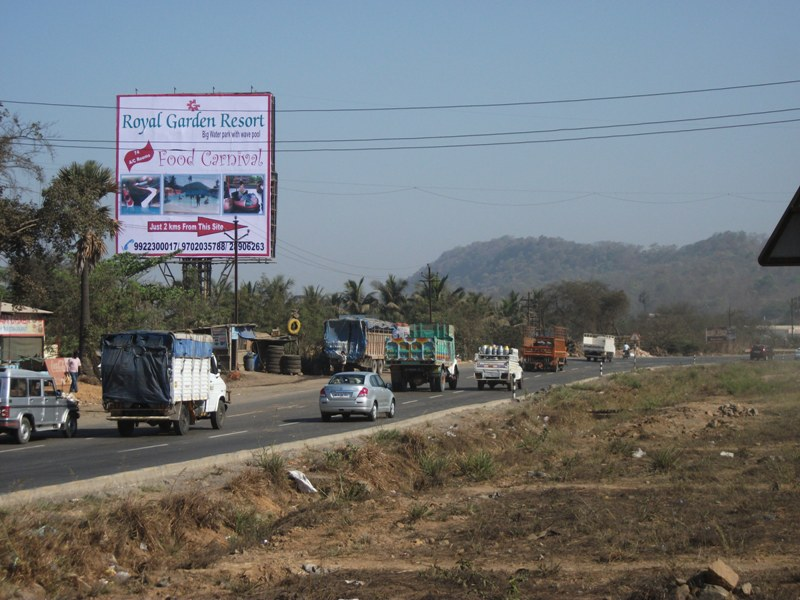 Bhyander Creek National Highway, Opp. Haveli Restaurant hoarding