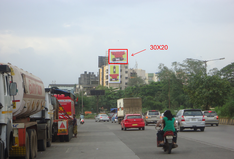 Thane Neon Site hoarding