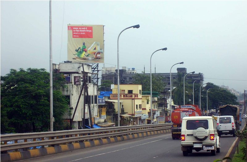 Vashi Turbhe Fly Over hoarding